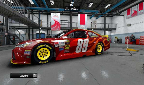 The #89 Fire Brand Toyota Camery by AdmiralofKingsford