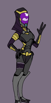 Tali from ME3 by Finjix