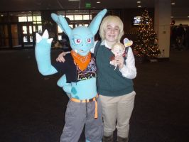 England and (?) - Tigercon 2012 by WolvesOfComedy