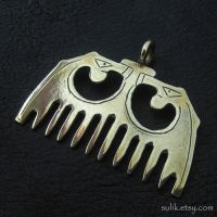 Bronze medieval comb by Sulislaw