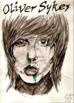 Oliver Sykes by FirstLuzifer