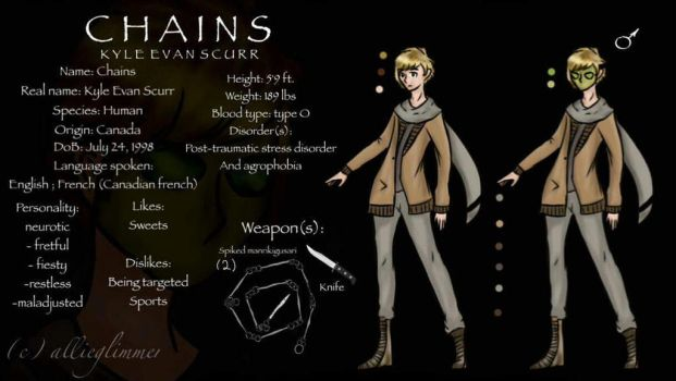 Chains (creepypasta) by allieglimmer