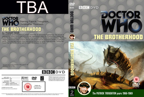 Doctor Who: The Brotherhood DVD cover WIP by Wario64I