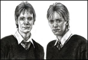 Fred and George by inyourhonour