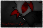 xX~Nightmare Leo~Xx by leothehedgehog071000