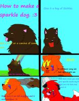 How to make a Sparkle dog. by rayna12