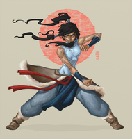 Legend of Korra by CamaraSketch