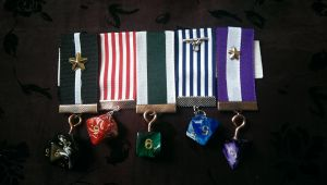 Dice Set Custom Order Costume Medals by SteamworkMedals