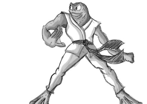 Frog (WIP) by PulaBoiPulaCavalo