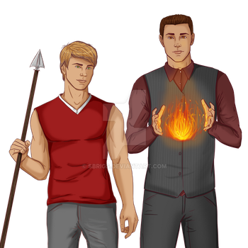 The Hartley Boys by sbrigs