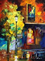 My tree by Leonid Afremov by Leonidafremov