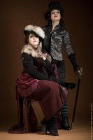 Mme. Flamara and me by GvonR
