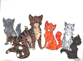 Great Journey cats by unistar2000