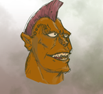 Ordinary Orc by Sysiphos