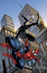 Spiderman and Black Cat colors by seanforney