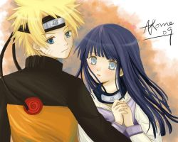 Naruhina:I'll protect you by akome1206
