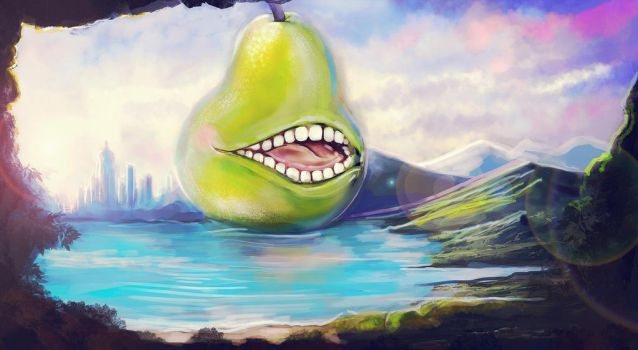 Biting Pear of Salamanca by Gotat