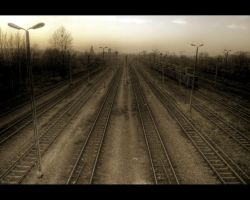 Railroad Impression II by Beezqp