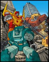 G1 Autobot group colors by BDixonarts