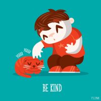 Be kind by ivan-bliznak
