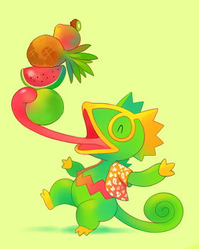 Fruity Friends by HappyCrumble