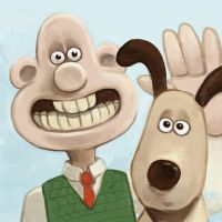 Daily Sketches Wallace and Gromit by fedde