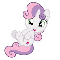 Adorable Sweetie Belle by DisneyBrony2012