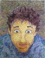 Me in Pointillism by Roxas5