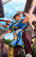 Chun Li Color Battle by Kubena