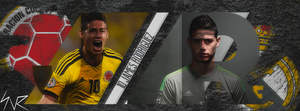James Rodriguez Facebook Cover by snrdesigns