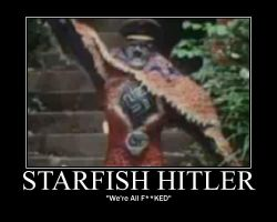Starfish Hitler by Hailtothechimp