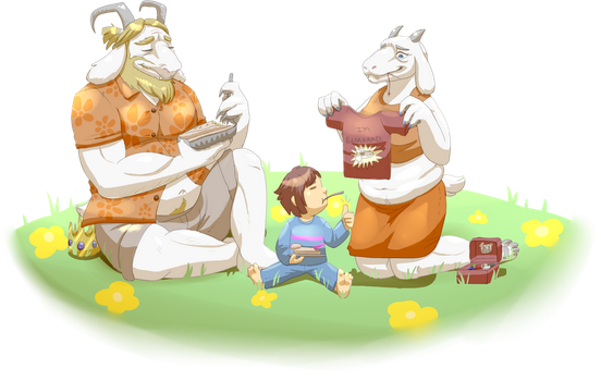Family Time by SaintNevermore