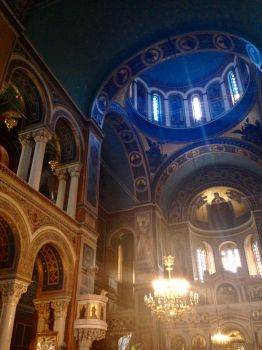 Orthodox Cathedral in Athens by Sharksrule12