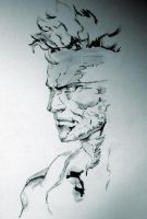 Solid Snake by SnowTheGoon