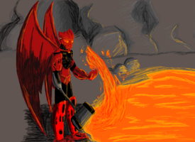 The Lava's Glow by Toa-Niretta