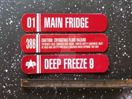 Star Trek related Fridge Magnets by CmdrKerner