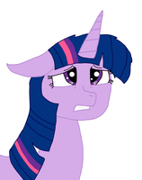Sad Twilight Sparkle by alviniscute
