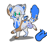 Splash Kitten Adoptable |1 Of 100 Themes| by FlightThroughChaos