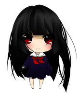 Chibi Enma Ai by OFullMoon