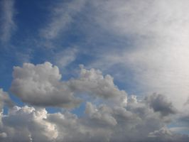 Wild Blue Yonder Sky Clouds 33 by FantasyStock