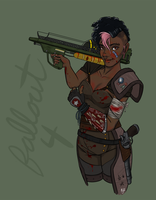 Fallout Protag by evilseedlet