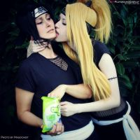 Itachi x Deidara: You are better than Sweets, Ita by HeavenCatTheRealOne
