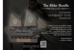 Elder Scrolls Online - Altmer Ship Paper Model by RocketmanTan