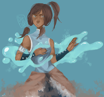 Korra by DivaWho