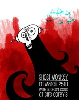Ghost Monkey at Dire Corby's by michaelpatrick