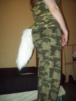 Wolf or Fox Fursuit Tail SOLD by JohnnyDeppsGirl4life