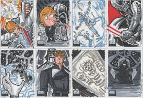 Star Wars Galaxy Cards by theFranchize