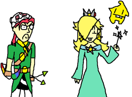 Shinon and Rosalina by ymmot392