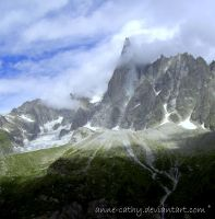 Mont Blanc by Anne-Cathy