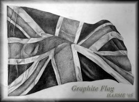 Graphite Flag by saiyanhajime